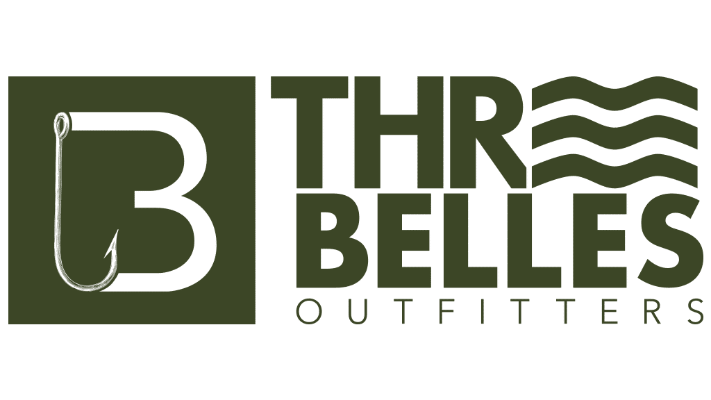 Three Belles Logo in Green